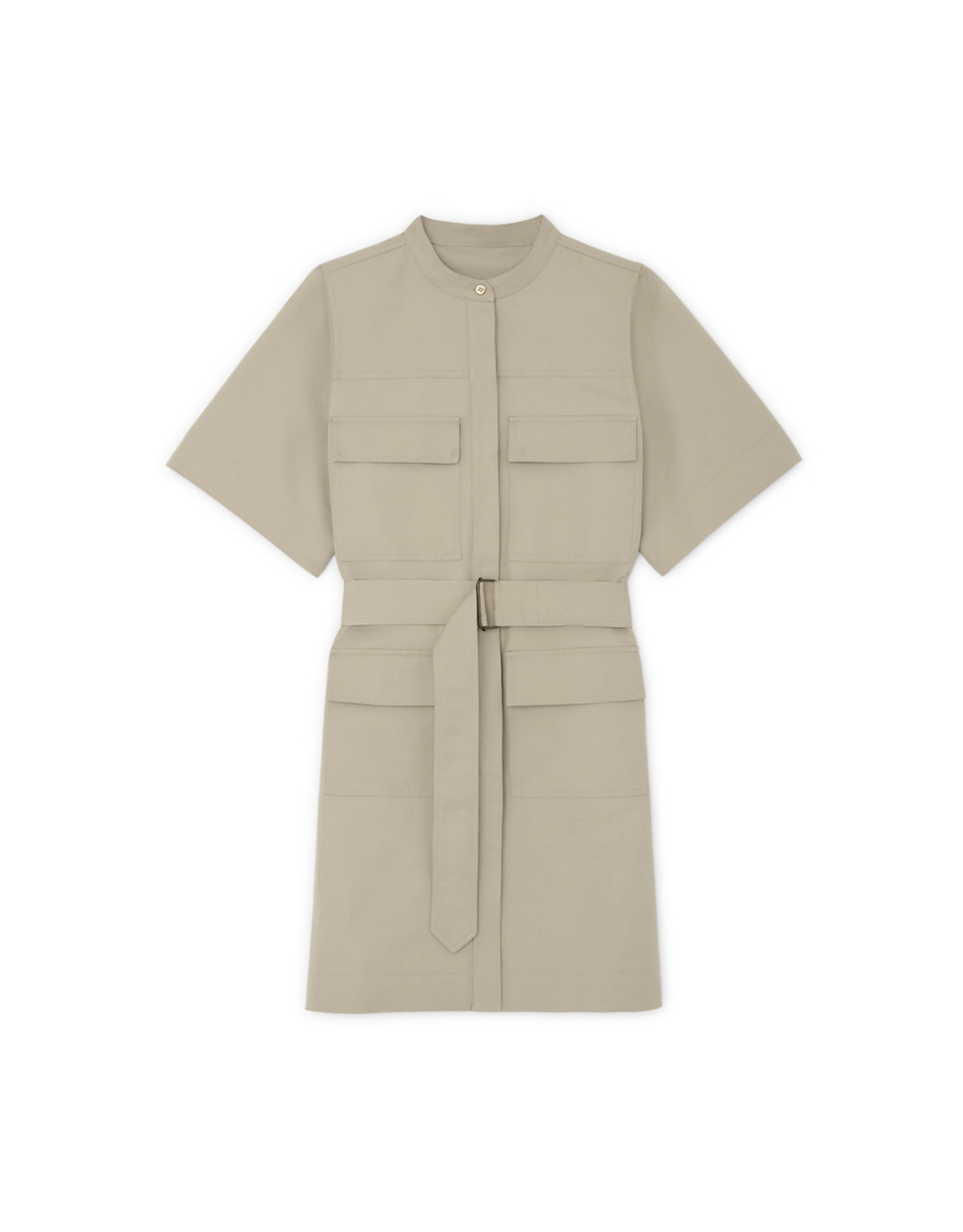 G. Label G. Label Umbria Utility Shirtdress (Color: Khaki, Size: S)
