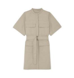 G. Label G. Label Umbria Utility Shirtdress (Color: Khaki, Size: M)
