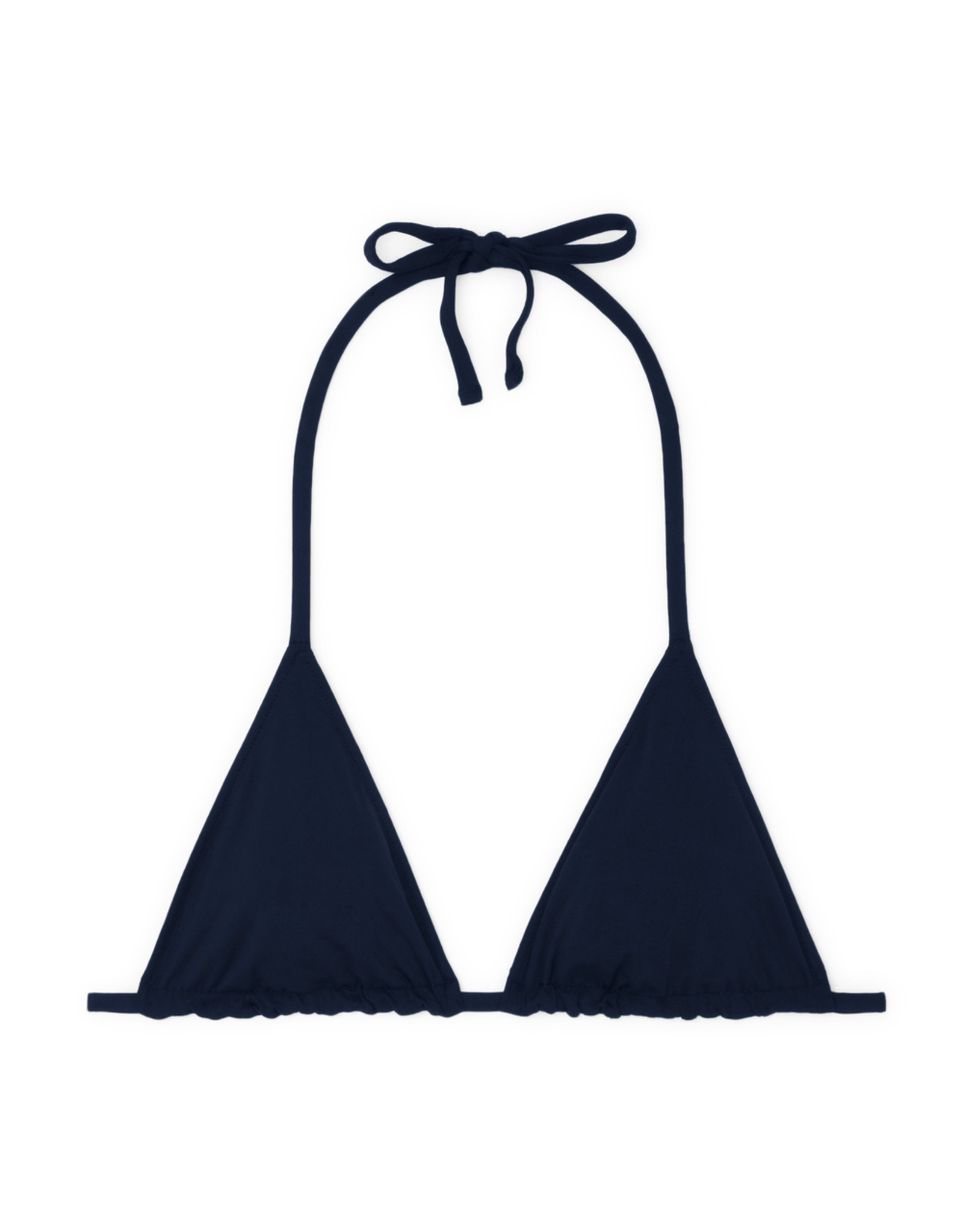 G. Label G. Label  String Triangle Top (Color: Navy, Size: M)
