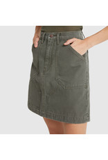 G. Label G. Label Pearson Flared Mini Skirt (Color: Army Green, Size: 26)