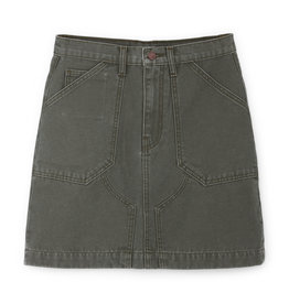G. Label G. Label Pearson Flared Mini Skirt (Color: Army Green, Size: 28)