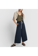 G. Label G. Label Dani Wide Leg Drawstring Pant (Color: Navy, Size: 8)