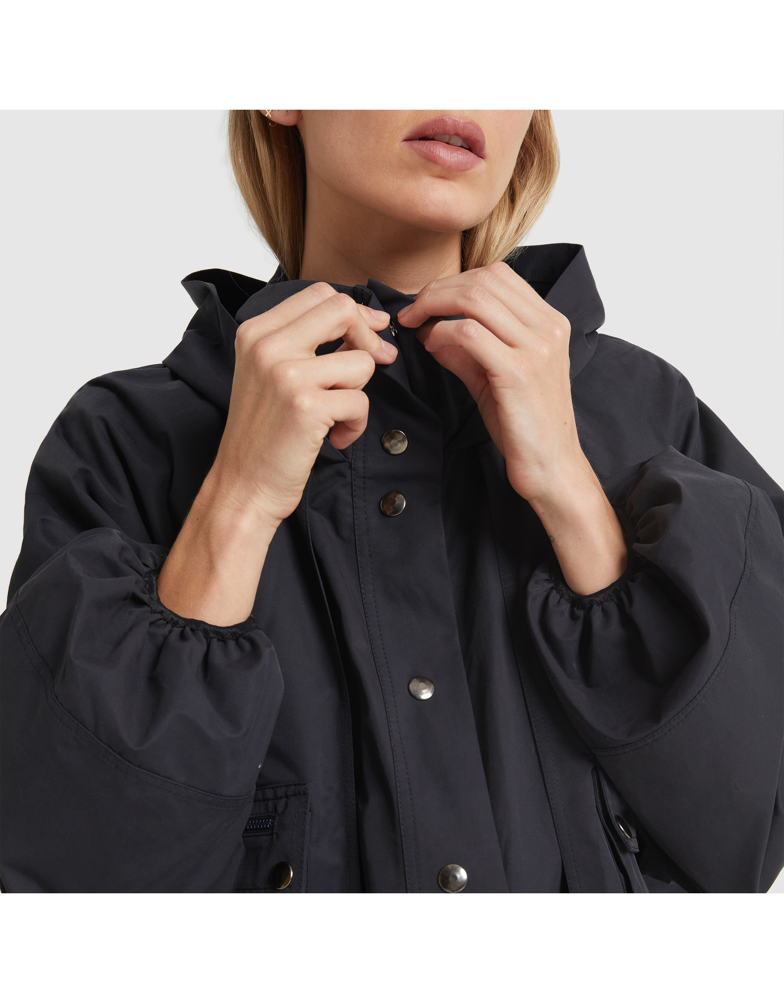 G. Label G. Label Carolyn Utility Performance Jacket (Color: Navy, Size: S)