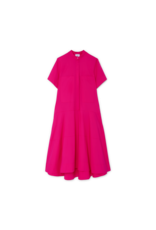 G. Label G. Label Mendoza Dropped-Waist Shirtdress (Color: Hot Pink, Size: 6)