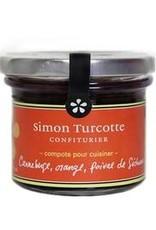 Simon Turcotte confiturier Canneberge, orange , poivre Séchan