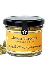 Simon Turcotte confiturier Moutarde Érable et myrique baumier