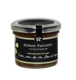 Simon Turcotte confiturier Tartinade pour fromage poire eau-de-vie