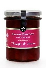 Simon Turcotte confiturier Tartinade Fraise et sureau