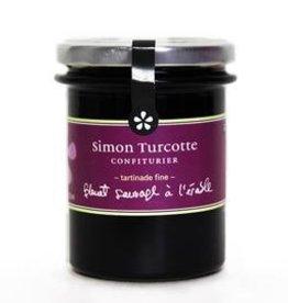 Simon Turcotte confiturier Tartinade Bleuet sauvage à l'érable