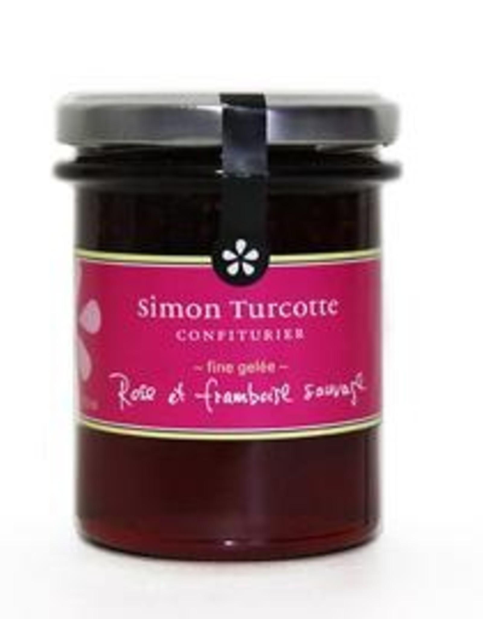 Simon Turcotte confiturier Gelée  Rose sauvage et framboise