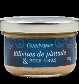 Rillettes de pintade & Foie gras