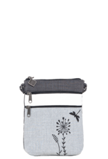 Jak's Pochette de marche libellule grise