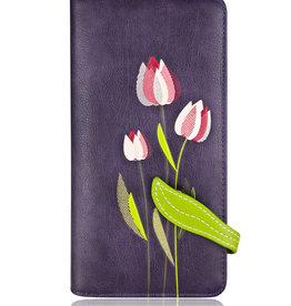 ESPE Portefeuille clutch Tulipe  mauve