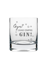 La maison du bar Verre à whisky Gym ? Gin