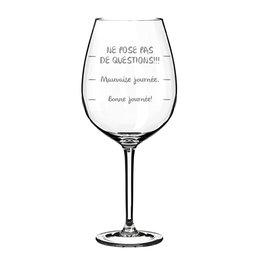 La maison du bar Verre à vin Questions