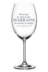La maison du bar Verre à vin Marraine