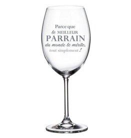 La maison du bar Verre à vin Parrain