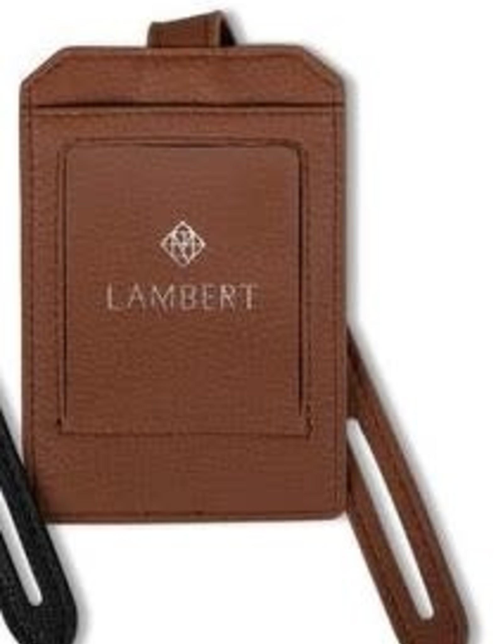 Lambert Étiquette de bagage Tan