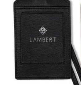 Lambert Étiquette de Bagage noir