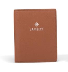 Lambert Étui à passeport Tan