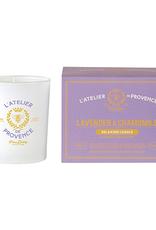 Lucia  par  Pure Living Bougie relaxante lavande et camomille 50hr
