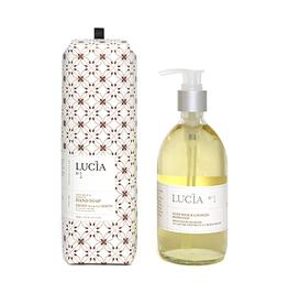 Lucia  par  Pure Living Savon pour les mains au lait de chèvre et à l'huile de lin