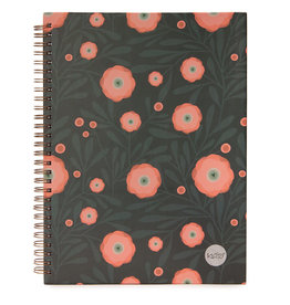 Ketto Cahier spirale coquelicot rose