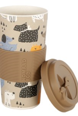 NOMAAD Tasse en bambou chiens