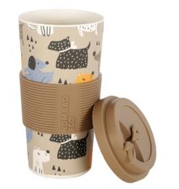 NOMAAD ECO Tasse en bambou chiens