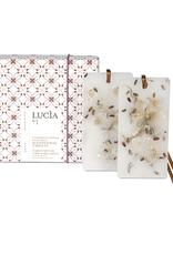 Lucia  par  Pure Living Tablettes de cire parfumées fleur de lin et lait de chèvre