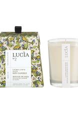 Lucia  par  Pure Living Bougie de soja Feuille de laurier et olive 20 hr