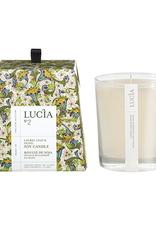 Lucia  par  Pure Living Bougie de soja Feuille de laurier et olive 50hr