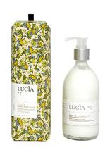 Lucia  par  Pure Living Lotion corps et mains à l'huile d'olive et feuille de laurier