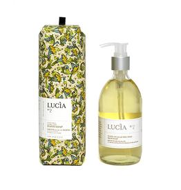 Lucia  par  Pure Living Savon pour les mains à l'huile d'olive et feuille de laurier