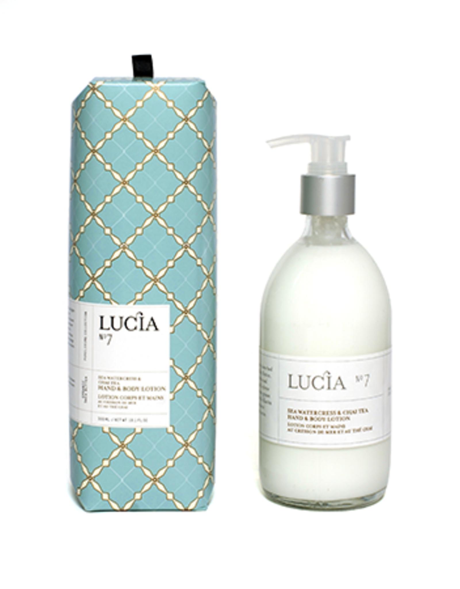 Lucia  par  Pure Living Lotion Cresson de Mer