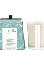 Lucia  par  Pure Living Bougie de soja Cresson de mer 20hr