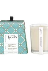 Lucia  par  Pure Living Bougie de soja Cresson de mer 50hr