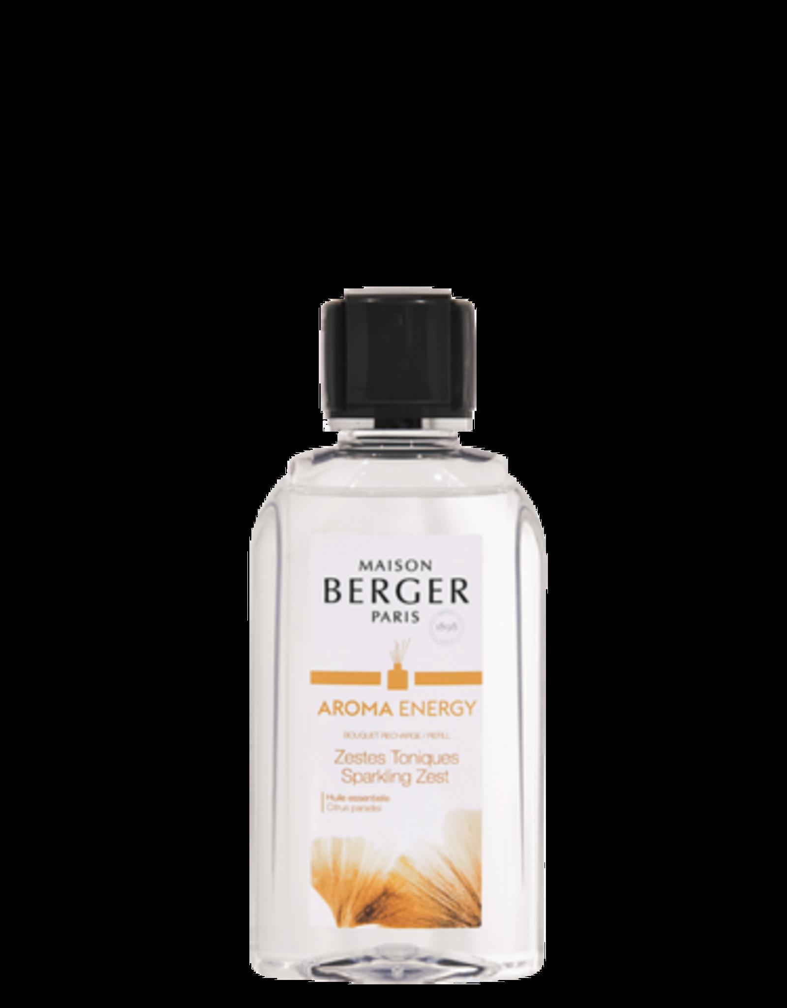 Maison Berger Recharge bouquet Aroma Énergy- Zestes Toniques