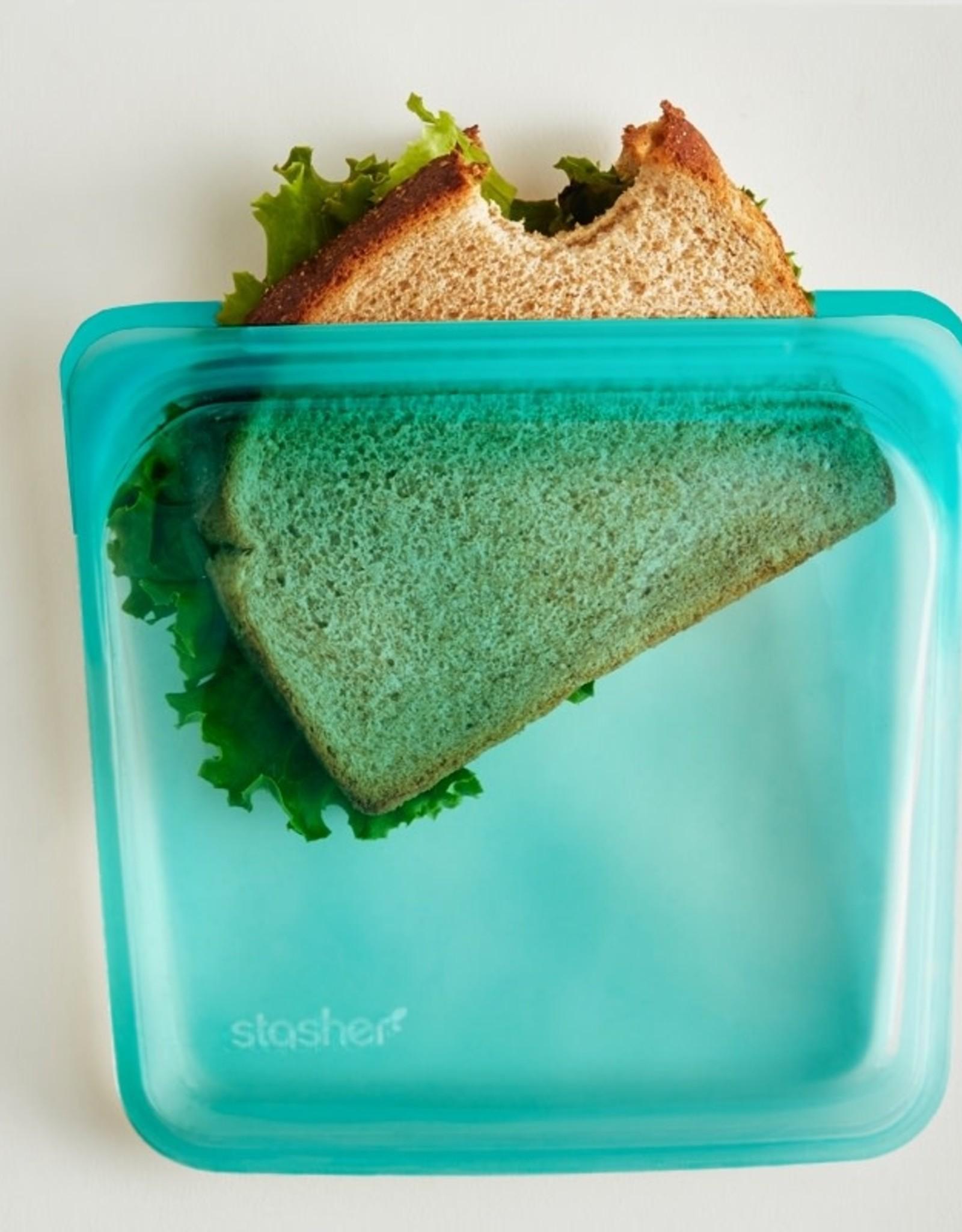 Stasher Sac stasher moyen Turquoise