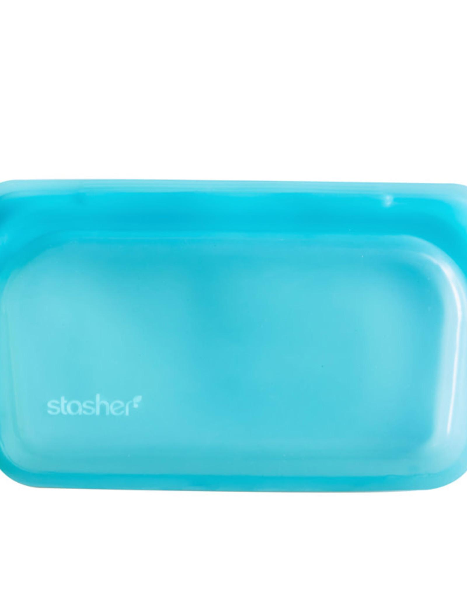 Stasher Sac à collation stasher Turquoise