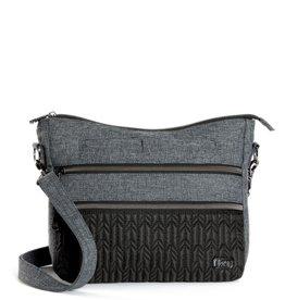 Lug Sac slider noir & gris