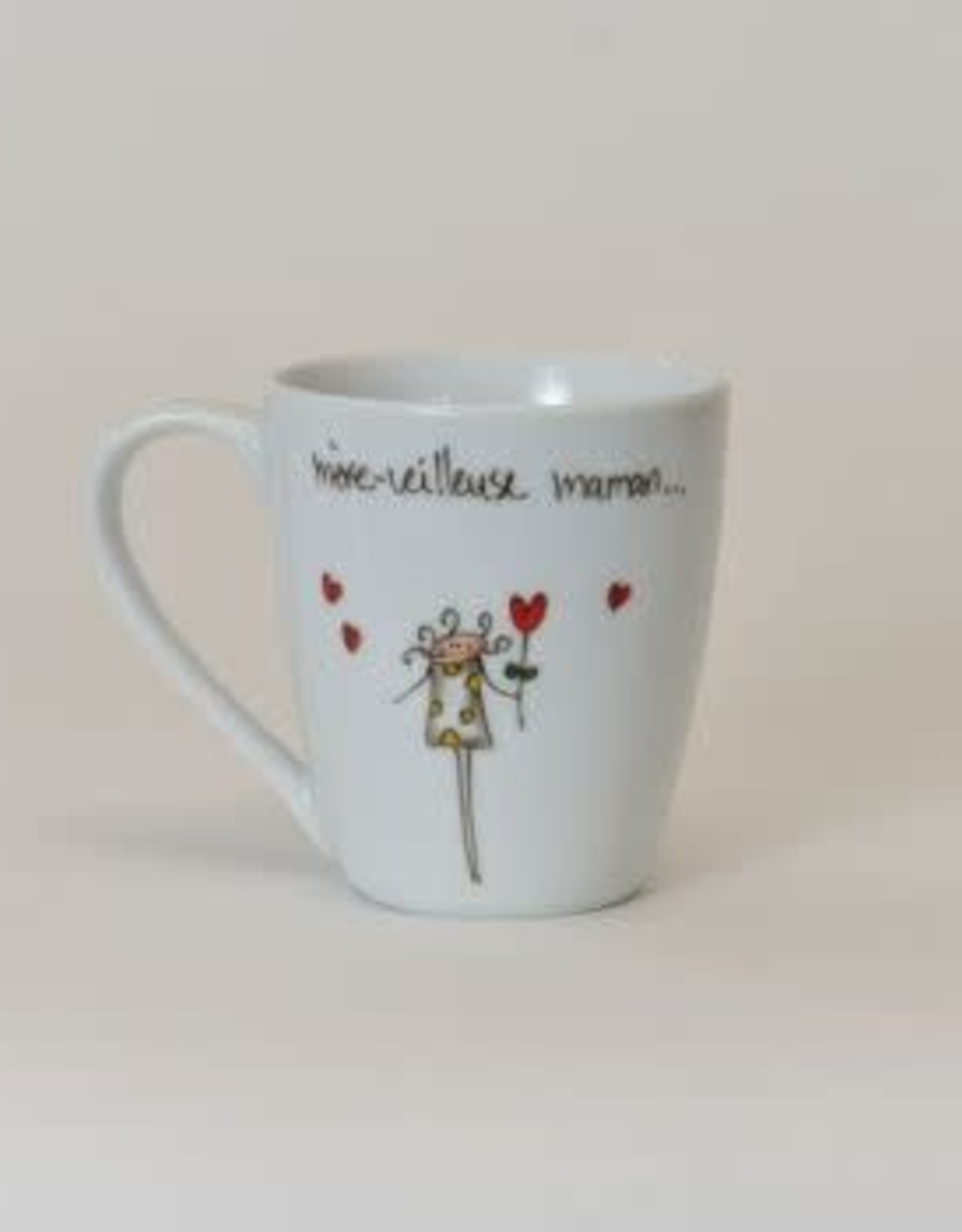 MA GRAND'NOIRE Tasse  mère-veilleuse maman