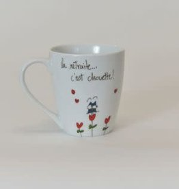 MA GRAND'NOIRE Tasse  Retraite chouette