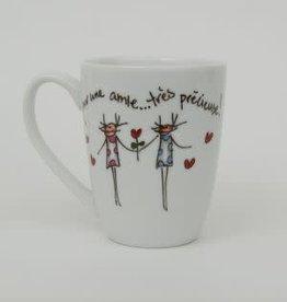 MA GRAND'NOIRE Tasse   Pour une amie... très précieuse!