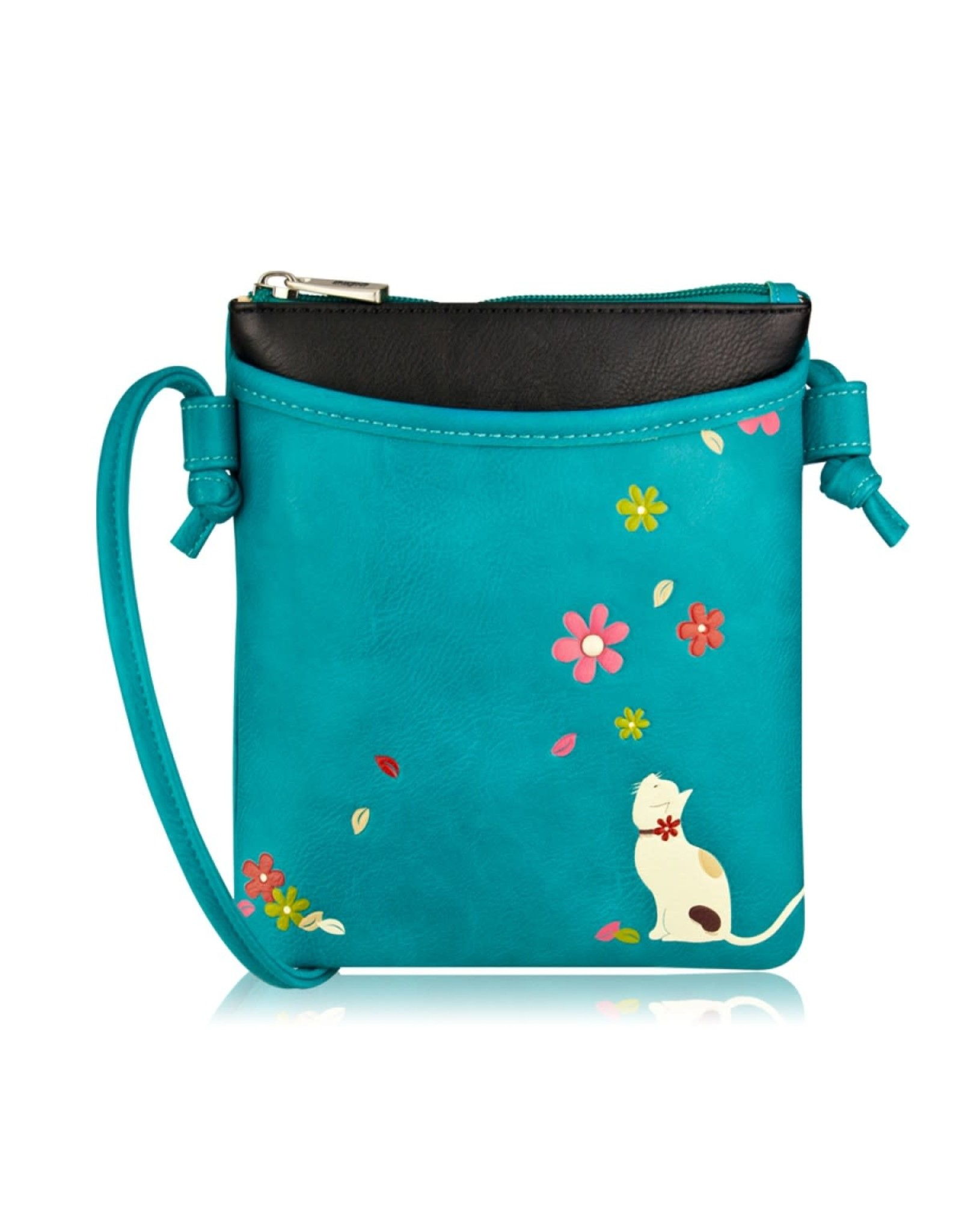 ESPE Mini sac chat Bleu  ( fall )