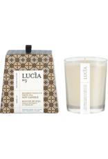 Lucia  par  Pure Living Bougie de soja Vanille et thé blanc  20hr