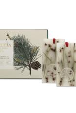 Lucia  par  Pure Living Tablettes de cire parfumées Pin Douglas