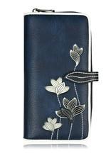 ESPE Portefeuille clutch Lotus bleu