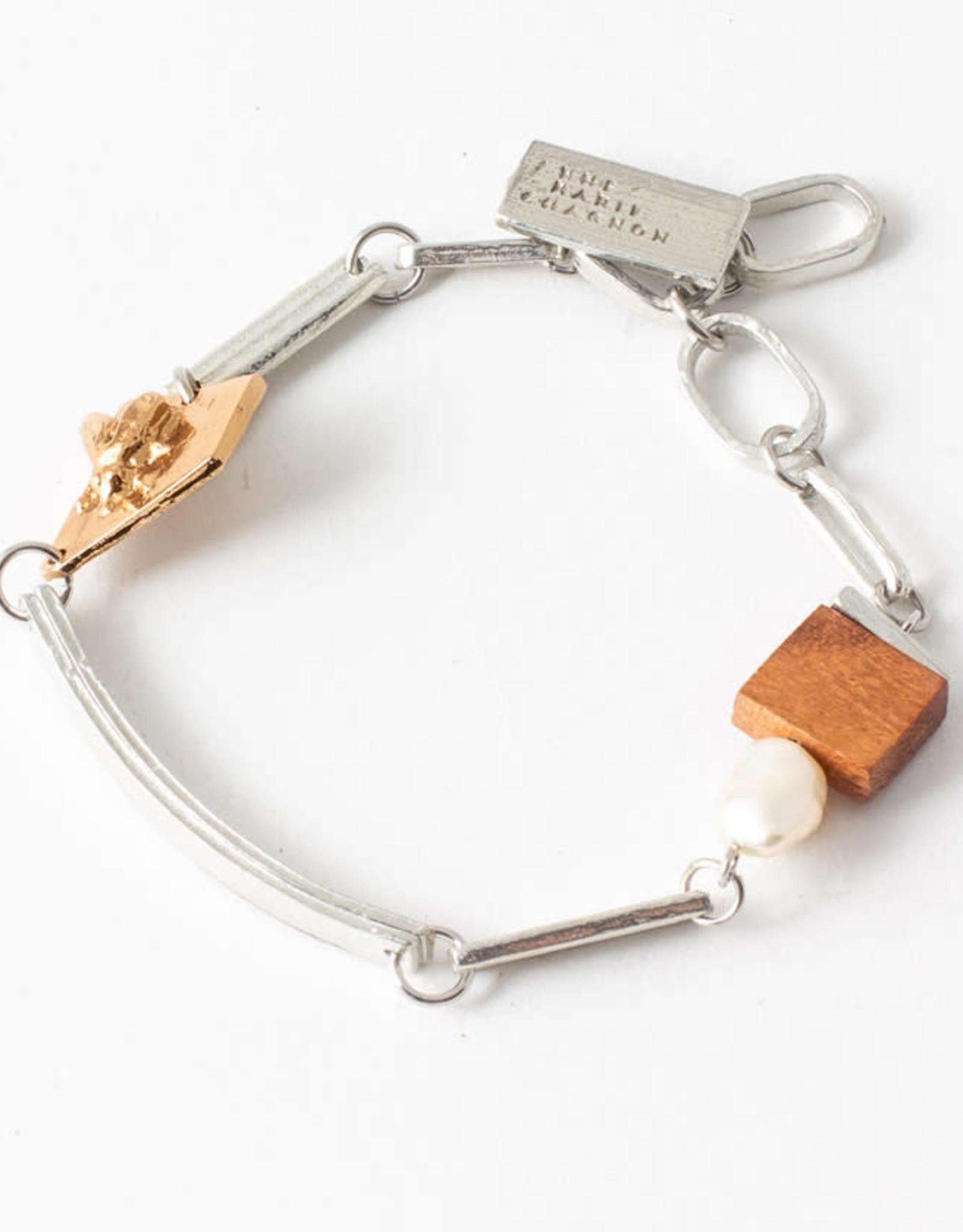 Anne-Marie Chagnon Bracelet Evanie bois