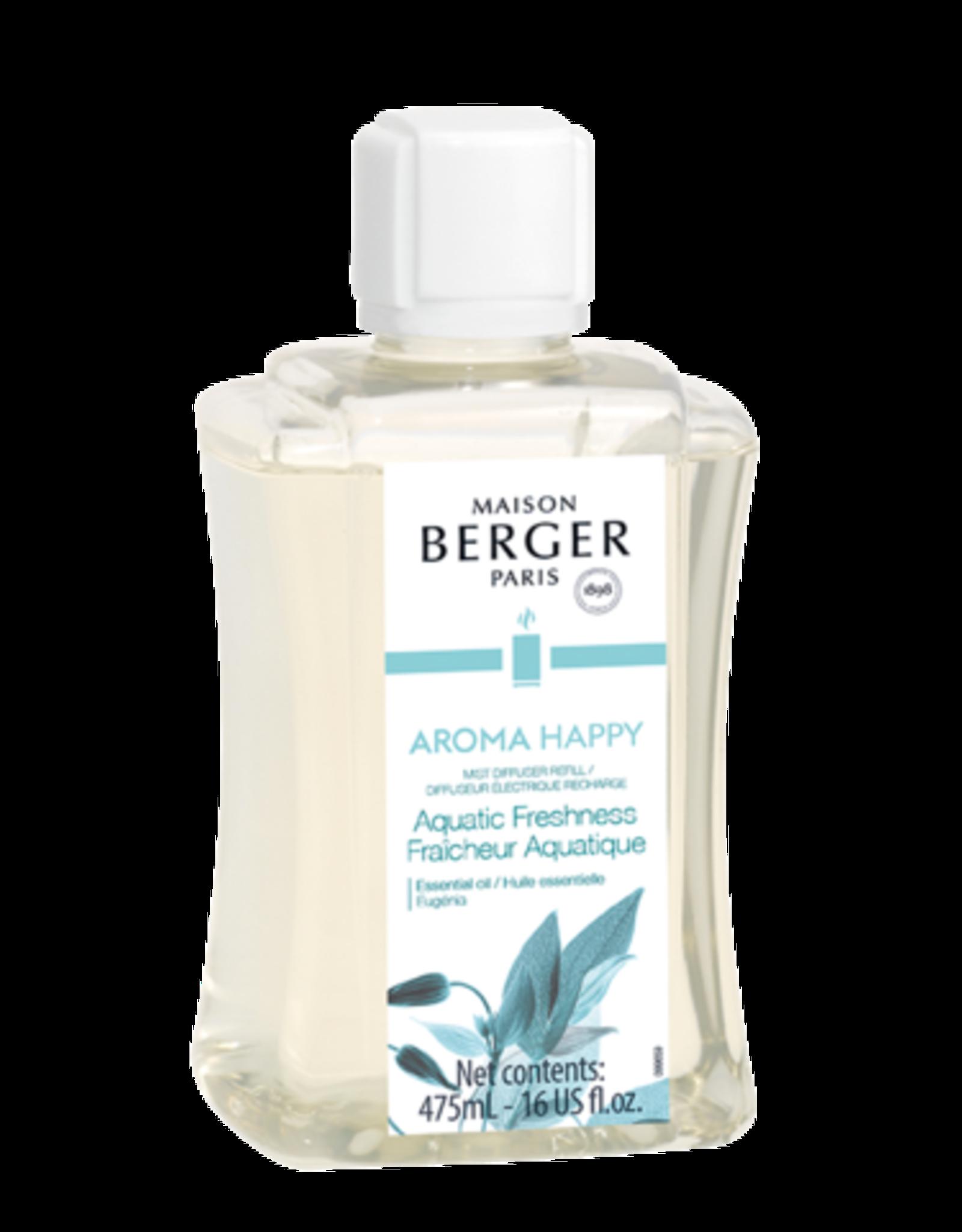 Maison Berger Recharge diff. électrique aroma happy- fraîcheur aquatique